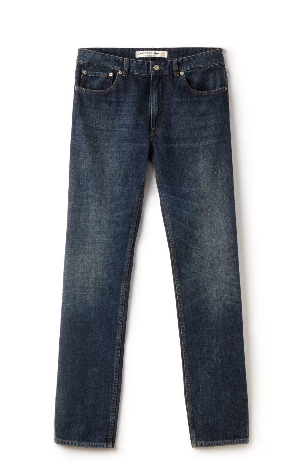 Lacoste Men's Standard Fit Jeans - Medium Wash - HH9489-24D - RRP