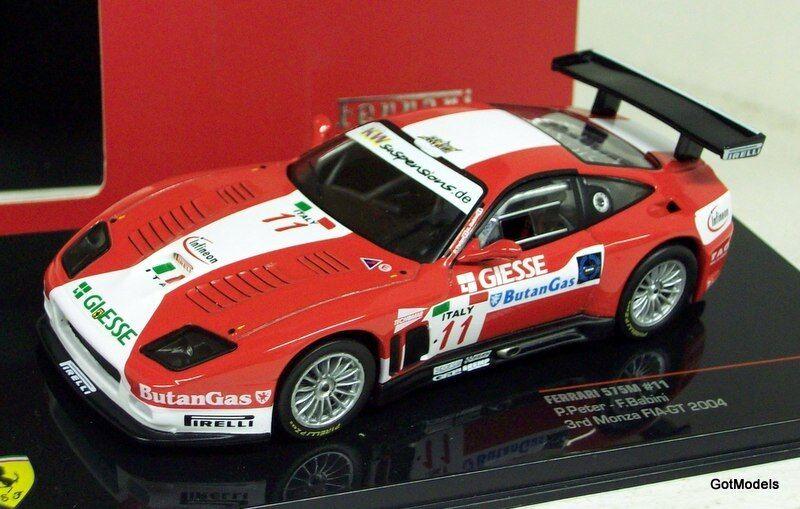 IXO 1 43 - FER041 FERRARI 575M MONZA FIA-GT 2004 - DIECAST MODEL CAR