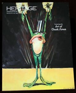 Art of Chuck Jones CATALOG Warner Bros Looney Toons Animation Auction Disney