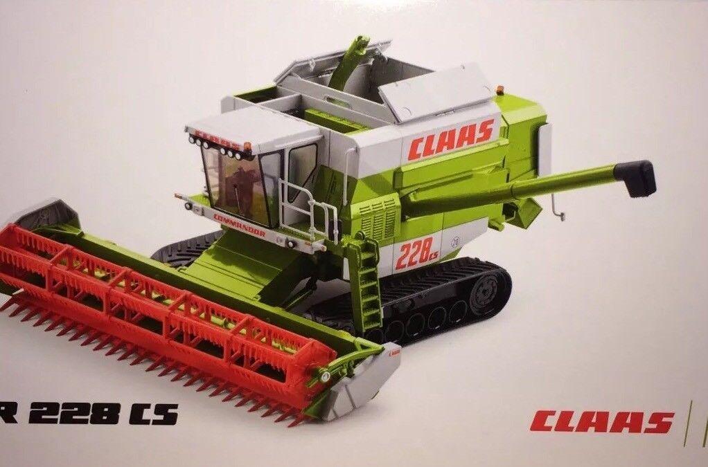Claas Commandor 228 CS 1 32 Agritechnica 2017 Limited Edition 1000pcs.