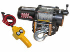 Five Oceans 2000 Lbs Electric Trailer Recovery Winch - ATV/Boat/Truck - 12V
