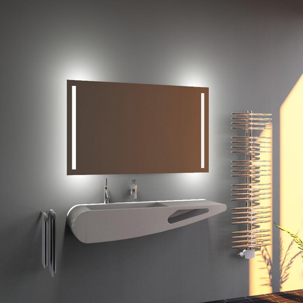 led bad spiegel badezimmerspiegel mit beleuchtung badspiegel wandspiegel s25 ebay. Black Bedroom Furniture Sets. Home Design Ideas