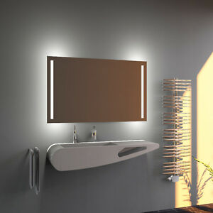 led bad spiegel badezimmerspiegel mit beleuchtung badspiegel wandspiegel talli ebay. Black Bedroom Furniture Sets. Home Design Ideas