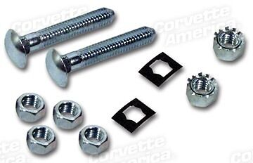 63-67 Corvette Gas Tank Strap Guide Bolt /& Nut Kit NEW 28415