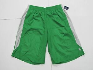 New-with-tag-Boys-RALPH-LAUREN-Green-POLO-thin-light-weight-Sport-Shorts-M-L-XL