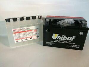 CBTX9-BS-BATTERIA-MOTO-UNIBAT-8AH-120A-YUASA-YTX9-BS-Spedizione-Inclusa
