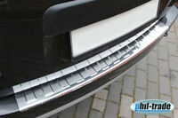 Dacia Duster 2010  Ladekantenschutz Edelstahl Abkantung Stoßstange Schutz hinten