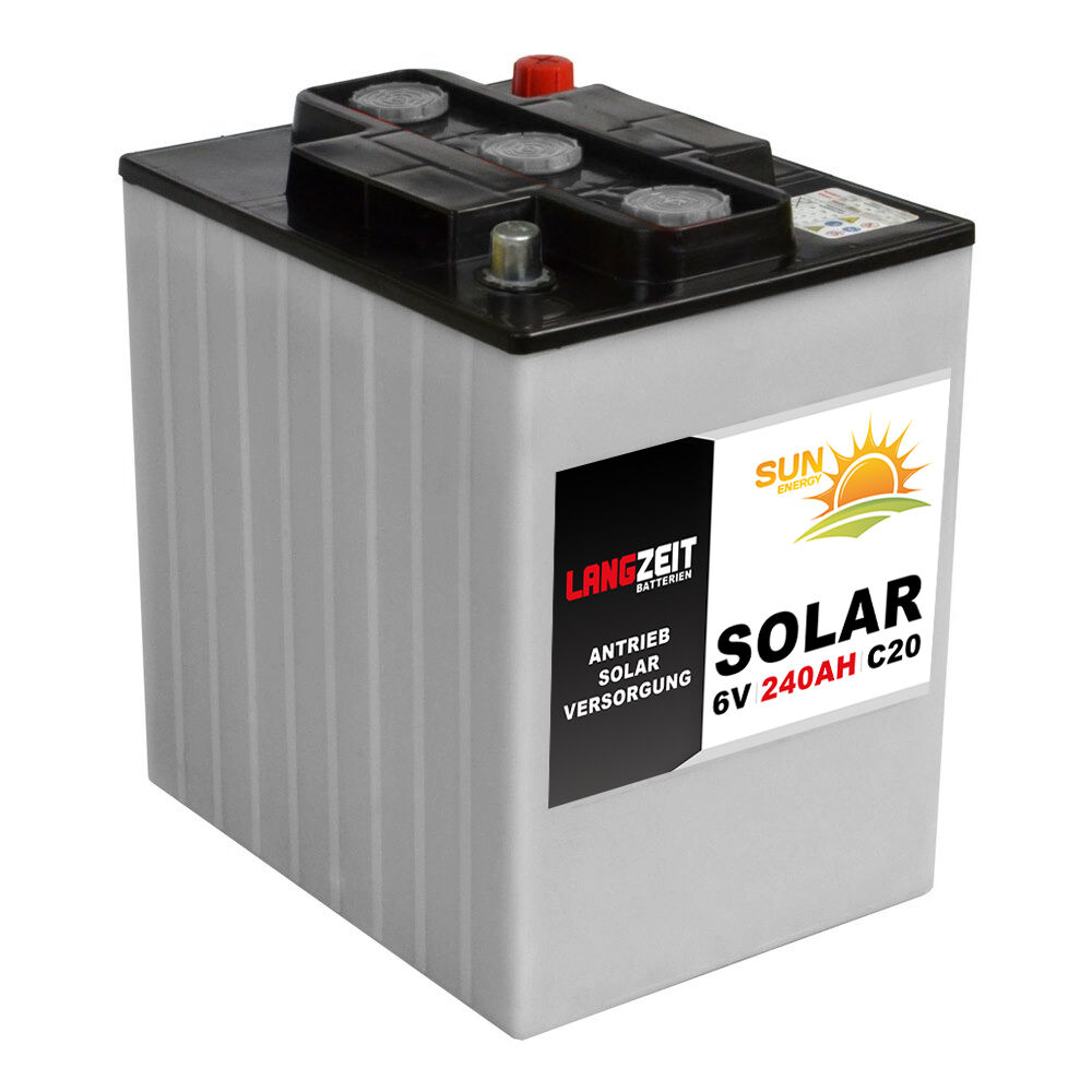 Langzeit Versorgungsbatterie 6V 240Ah Wohnmobil Batterie 230Ah 250Ah 6Volt