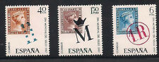 Spain Stamps - 1967 World Stamp Day In Mint Condition Set Of 3
