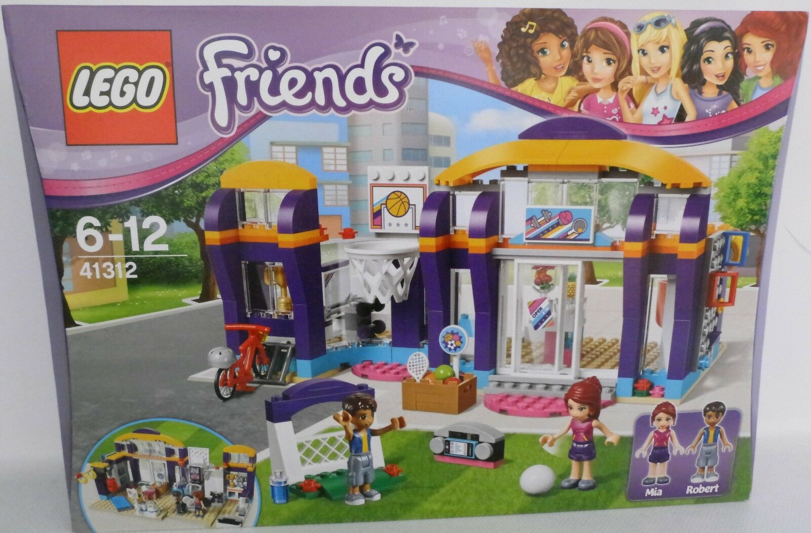 NEU LEGO® Friends 41312 Heartlake Sportzentrum OVP