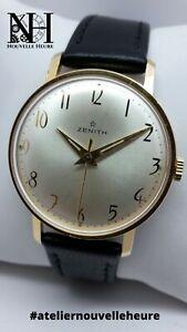 Superbe montre mécanique vintage ZENITH (cal.2522) Révisée