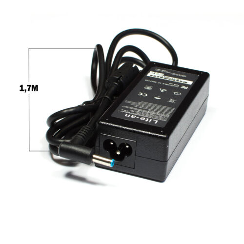 Chargeur d/'Alimentation 19,5V 3,33A 65W Pin Bleu Pour Ordinateur PC Portable HP