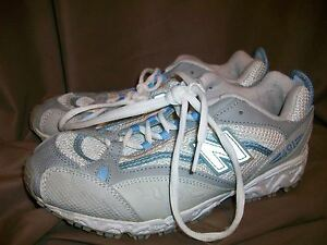 Details about (USED) NEW BALANCE 491 WOMENS SIZE 6 RUNNING SHOES BLUE GREY