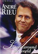 ANDRE RIEU : LOVE AROUND THE WORLD -  DVD -  Region 2 UK - New