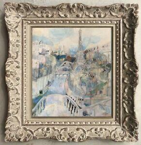 Decouverte-a-painter-of-exception-beautiful-scene-motion-paris-tour-eiffel