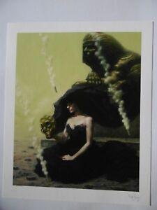 Litografía Billy Norrby Cuadro Mano Cartel Firmada Por L Artista Y Numerada