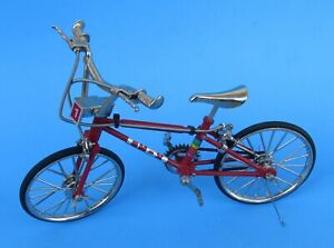 Mytek, 1:10 Die-Cast BM-X Red Bicycle