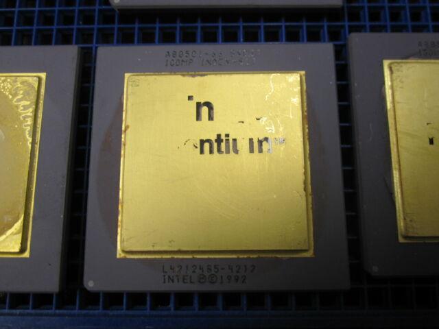 RARE Intel FA80486GX33 CPU Vintage QFP Embedded 486 ultra low power processor