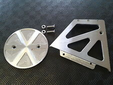 CNC ALUMINIUM SPOKED PULLEY COVER 27T + CASING BUELL S1 LIGHTNING ( USA MODEL )