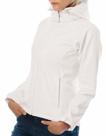 B&C Hooded Softshell   damen Softshell-Jacke 6 Farben XS - XXL BCJW937 (C)