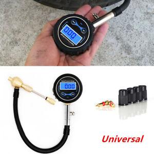 Digital LCD Car Truck Tire Air Bleeder Deflator Wheel Pressure Gauge Meter PSI