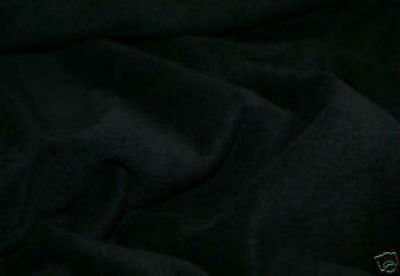 60 Inch Width Black Polar Fleece, Material,Fabric,Soft And Washable