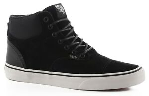 6223f9b5e66c4f Vans Era Hi CA Pig Suede Nylon Blanc de Blanc Men s Skate Shoes Size ...