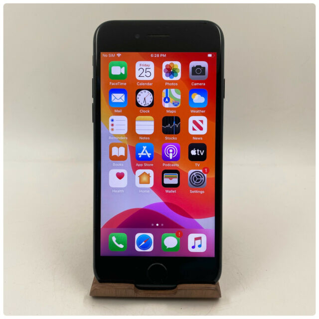 Apple iPhone 7 - 128GB - Black AT&T Cricket Locked A1778 Very Good
