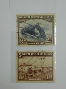RB-112-1931-amp-37-South-West-Africa-Stamps-used
