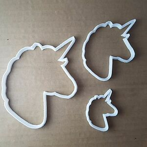 Unicorn-Horse-Mythical-Shape-Cookie-Cutter-Animal-Biscuit-Pastry-Fondant-Sharp