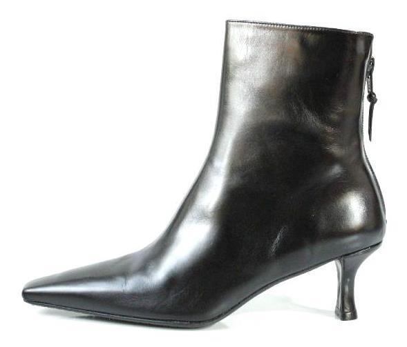 vendita calda online New STUART WEITZMAN 'Discovery' nero leather back zipper ANKLE ANKLE ANKLE stivali scarpe  risparmia fino al 30-50% di sconto