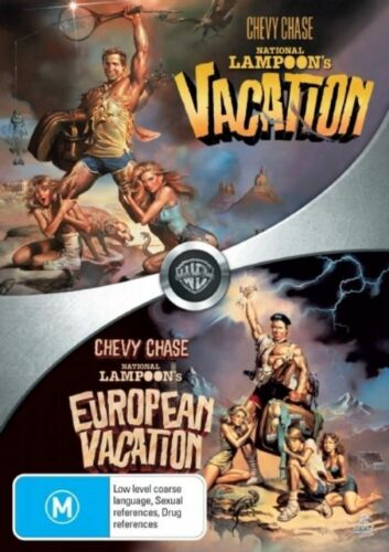 1 of 1 - National Lampoon's Vacation / European Vacation - Comedy - 2 Disc NEW DVD