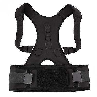 Lumbar Lower Back Waist Support Belt Brace Strap Pain Relief Adjustable Posture
