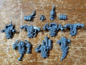 Warhammer 40k BITS Death Guard PLAGUE MARINES BACKPACKS