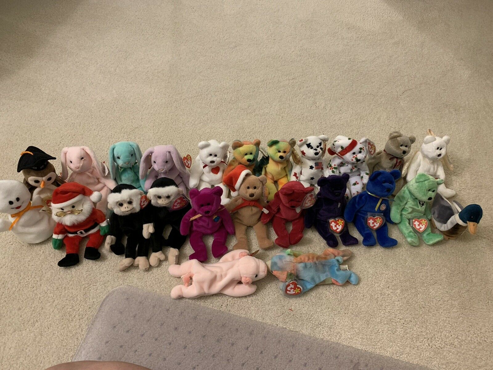 Ty Beanie Babies LOT OF 23