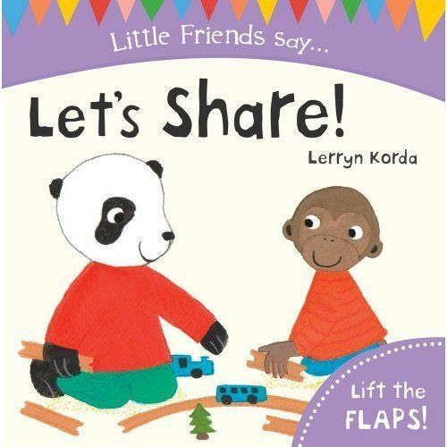 Korda, Lerryn, Let's Share! (Little Friends Say), Very Good Book