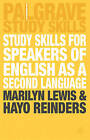 Study Skills for Speakers of English as a Second Language by Marilyn Lewis, Hayo Reinders (Paperback, 2003)