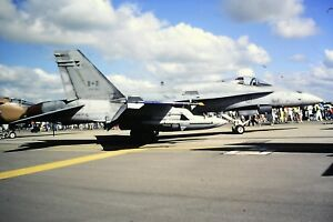 2-68-2-McDonnell-Douglas-F-18-Hornet-Royal-Canadian-Air-Force-Kodachrome-SLIDE