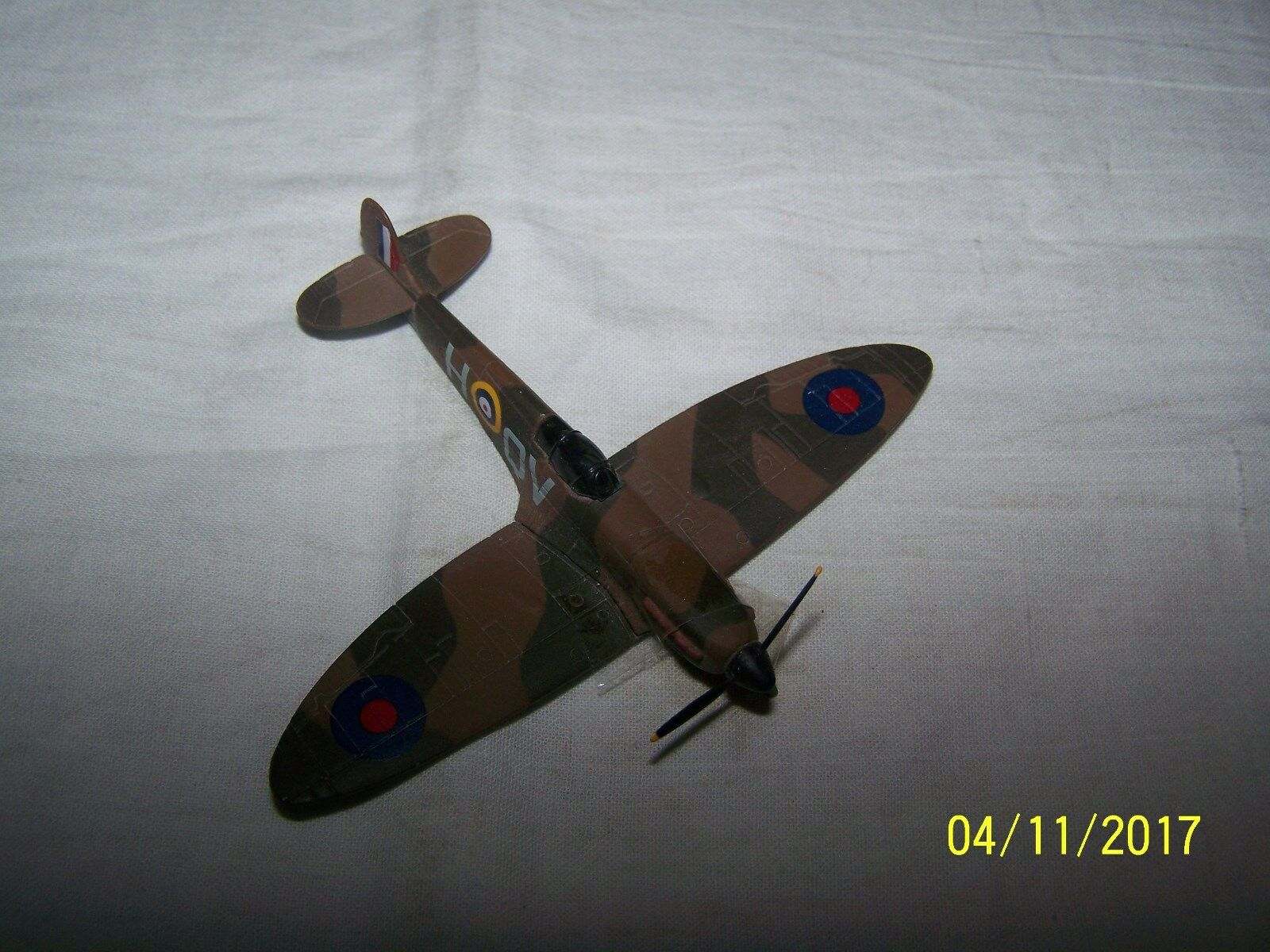 The Corgi Collection  Battle of Britain  Supermarine Spitfire Mk1B G Unwin