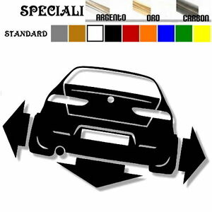 adesivo-sticker-ALFA-romeo-156-tuning-down-out-dub-prespaziato-auto