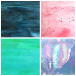 VETRO-Colorato-Strisce-5-CM-x-15-cm-vasta-scelta-di-colori
