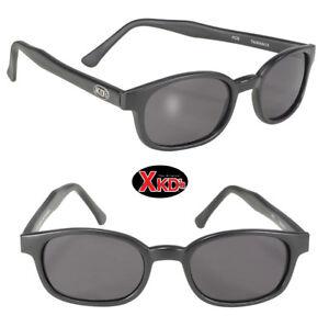 a7a05a2d30 NEW! X-KD s Sunglasses Smoke Lens Matte Black Frame 10010 Cool Biker ...