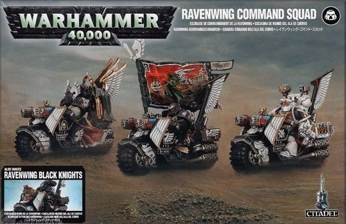 Dunkle engel  ravenwing kommando - einheit miniaturen games workshop gmbh neu