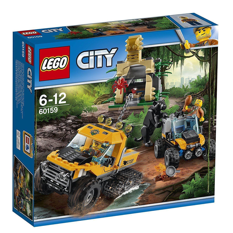 Lego City 60159 Mission en Dschungel-Halbkettenfahrzeug Neuf   Emballage