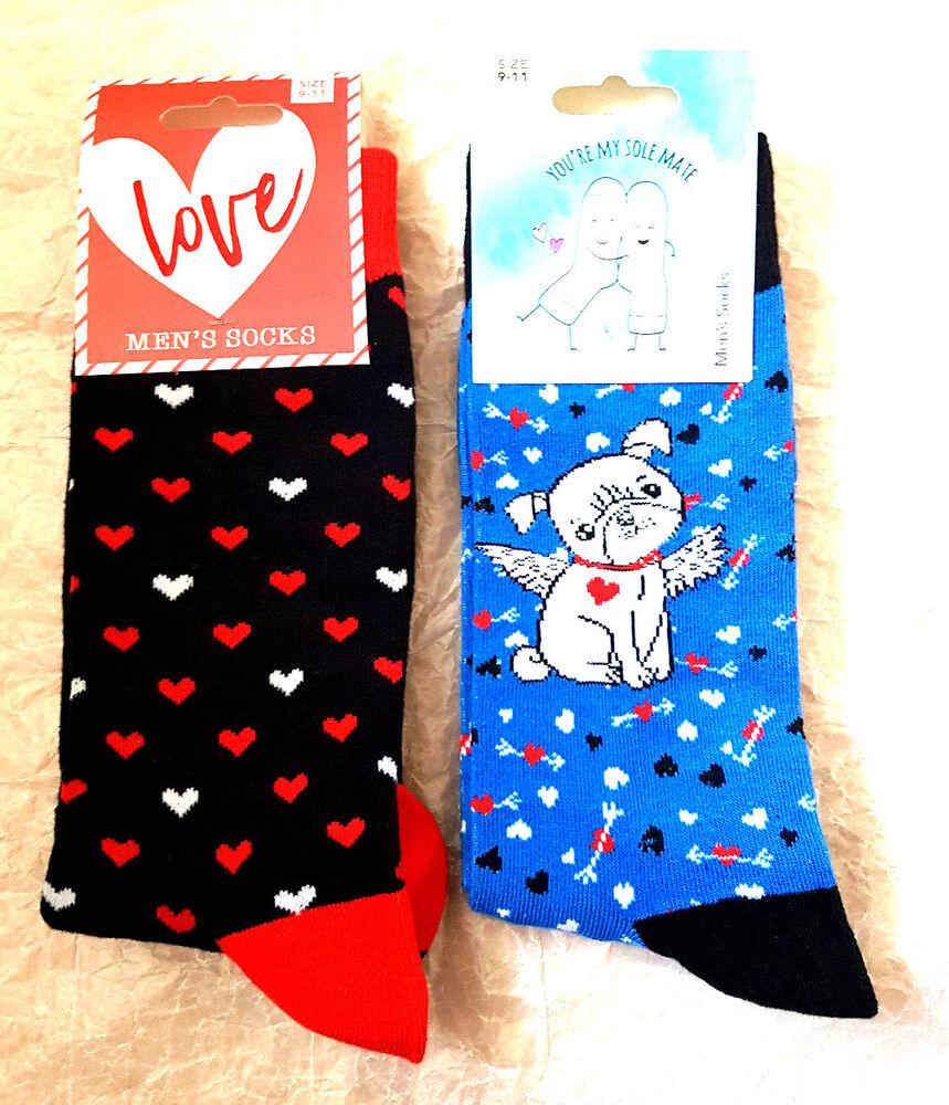 Candide Mens Novelty Socks (idéal Cadeau) Taille Uk 9 - 11 Neuf (2 Designs) Soyez Astucieux Dans Les Questions D'Argent