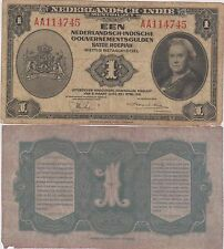 Indie Olandesi  / Netherlands Indies 1 Gulden 02/03/1943 - P 111a