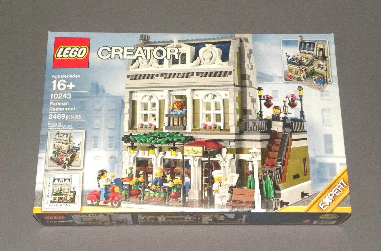 Lego Parisian Ristorante 10243 Creatore Expert Modulare Edificio Nuovo