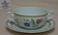 """Heinrich, Villeroy & Boch """"Indian Summer"""" SOUP COUP & STAND"""