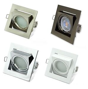 10-GU10-Cuadrado-Techo-Focos-Empotrables-Downlight-direccional-de-inclinacion-luces-Led