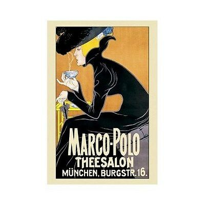 MARCO-POLO THEESALON POSTER Rare Hot New VINTAGE 24x36